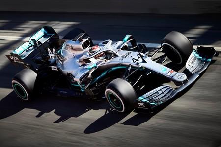 Hamilton Barcelona F1 2019