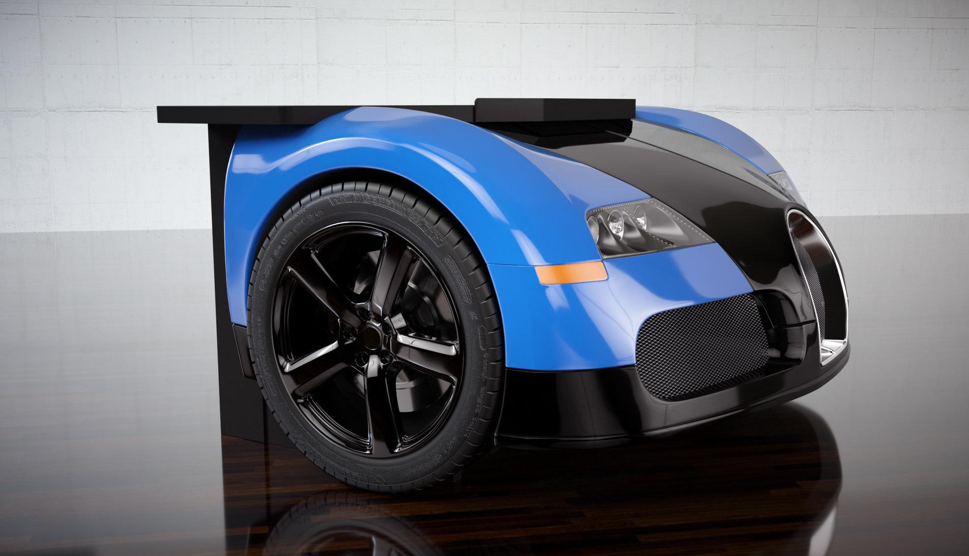 Foto de Mesa de escritorio Bugatti Veyron (2/4)
