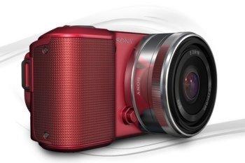 Sony NEX 5 Roja