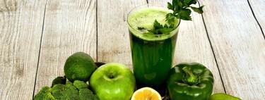 Estos son los beneficios del jugo verde en tu cuerpo