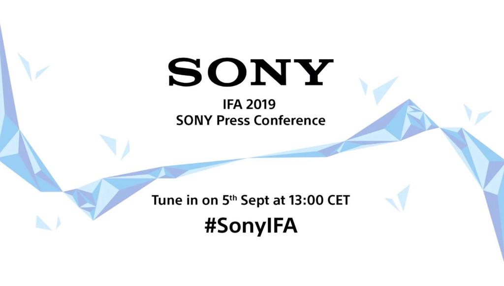 Sony en IFA 2019: sigue en directo la presentación de hoy