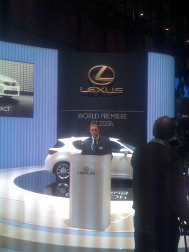 Presentación en Ginebra Lexus CT-200h 3