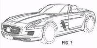 Primeros bocetos del Mercedes SLS AMG Roadster
