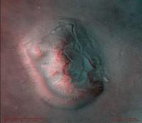 La cara de Marte en 3D