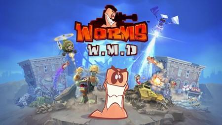 Los gusanos de Worms W.M.D. se preparan para la guerra con una versión para Nintendo Switch