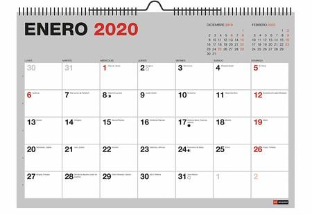 CALENDARIO 2020 MAS VEBDIDO