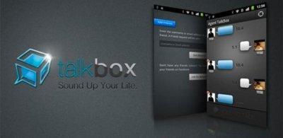 TalkBox, envía mensajes de voz y olvídate de escribir