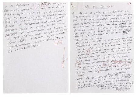 """El manuscrito """"Los secretos de El Bulli"""" se subastó ayer por 55.000 euros"""
