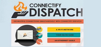Dispatch, el software que une múltiples conexiones WiFi, 3G, 4G  y cableadas en una super conexión
