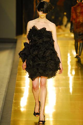 vestido negro jose castro