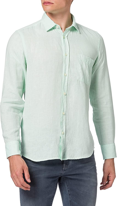 Camisa BOSS para hombre en algodón 100%