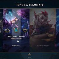 El nuevo Sistema de Honor llega a League of Legends y esto es lo que necesitas saber