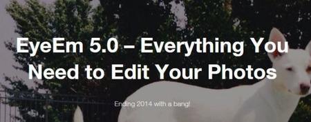 EyeEm se actualiza a su versión 5.0 pudiendo compartir los ajustes de tus fotografías