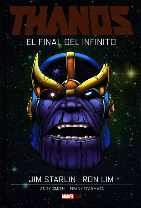 Thanos Final Jim Starlin