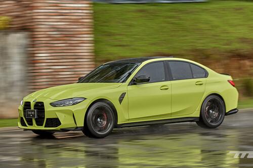 BMW M3 Competition 2022, a prueba: una autoridad en alto desempeño, con 510 hp que erizan la piel