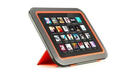 ORA, la carcasa para iPad que quiere que te olvides de altavoces externos