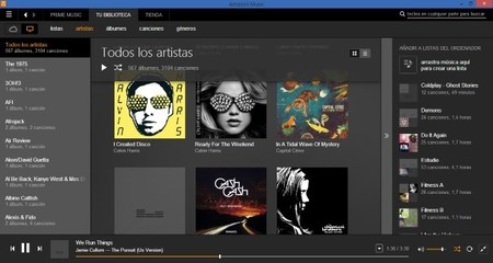 La aplicación de música de Amazon llegaría muy pronto a Windows Phone