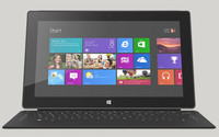 Microsoft vende 900.000 tabletas Surface en el primer trimestre de 2013