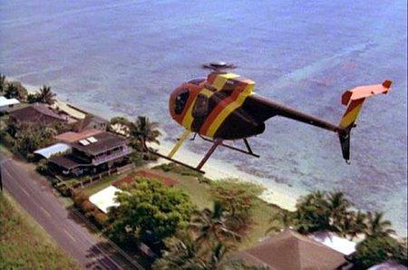 Helicóptero de Island Coopers