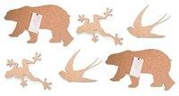 Corchos con formas de animales
