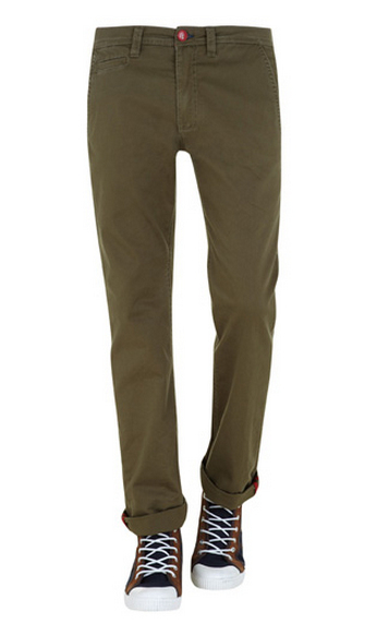 Pantalones verde militar Suiteblanco Primavera 2013