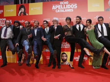 Foto de la premiere de Ocho Apellidos Catalanes