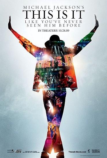 'This Is It', cartel de la película sobre Michael Jackson