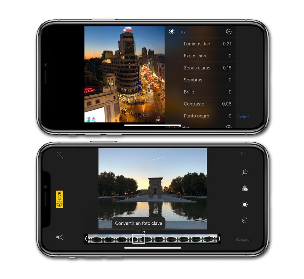 Iphone X Editor Fotos