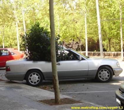Mercedes Cabrio ecológico