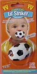 Chupete balón de fútbol