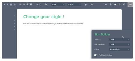 Este editor colaborativo de código abierto altamente personalizable es la solución ideal para evitar complicaciones