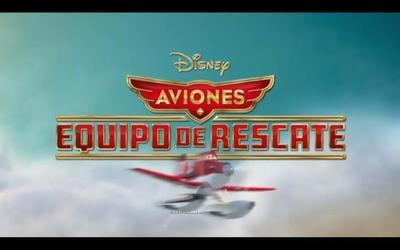 Los protagonistas de Aviones: equipo de rescate animan a la Selección española de fútbol