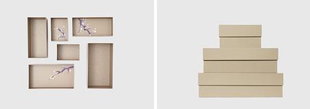 Cajas Hikidashi En Color Beige Modelo Armonia Copia