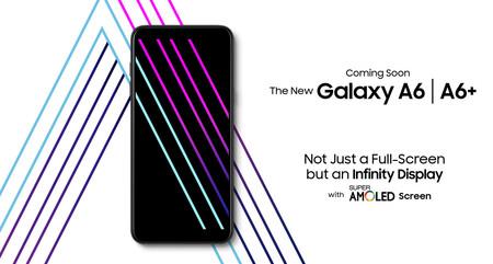 """Galaxy A6 y Galaxy A6+: más pantallas """"sin marcos"""", ahora con doble cámara trasera, para la gama media de Samsung"""