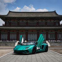 Los Lamborghini Aventador S Roadster Korean Special Series son dos unicornios de 740 CV para unir Italia y Corea del Sur
