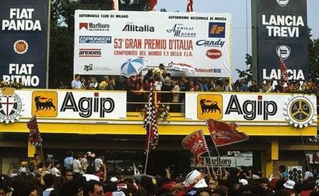 Podio GP Italia 1982