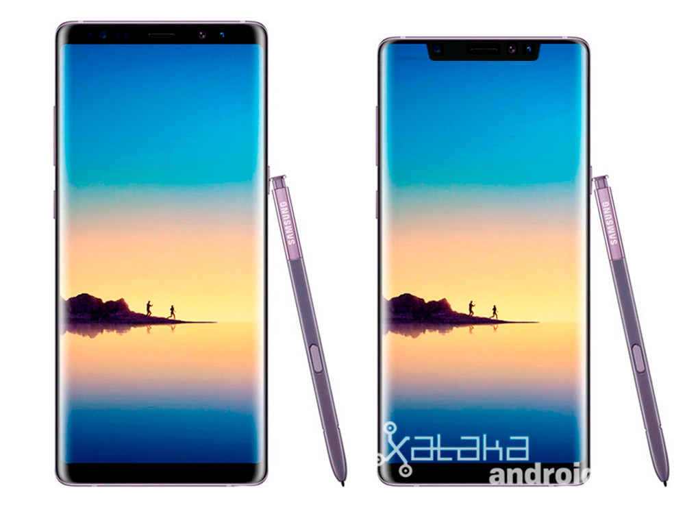 Note8 Notch
