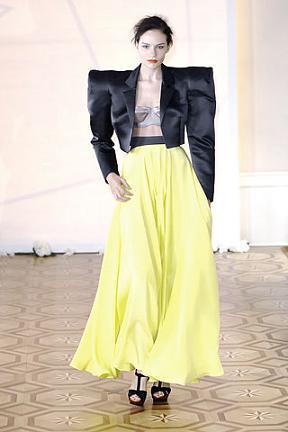Roksanda Ilincic o cómo vestir a la novia de Frankenstein