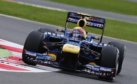 Mark Webber Silverstone 2012