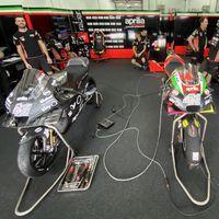 Así es la radical Aprilia RS-GP 2020 y su alerón delantero: la moto que desafía al paddock de MotoGP