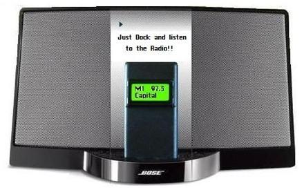 FM DockRadio, añade radio a tus altavoces del iPod