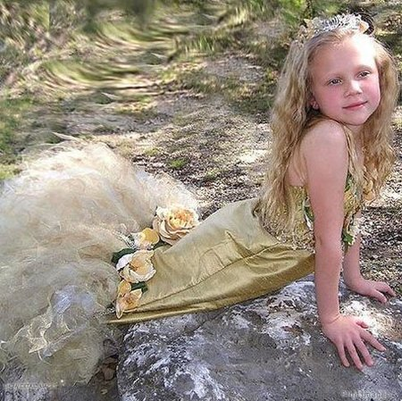 Disfraces hechos a mano para niñas preciosas: vestidos de princesa, hada y sirenas de lujo
