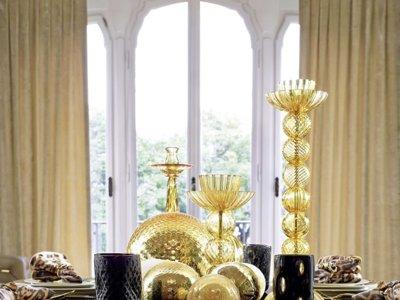 Lujo y sofisticación en las mesas vestidas por Roberto Cavalli