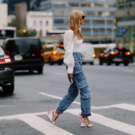 Pantalones Cargo Street Style 08