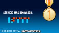 Lo mejor de 2012: los servicios más innovadores/prometedores