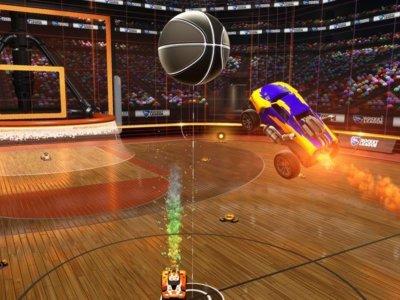 Los mates llegarán a Rocket League en abril con su modo de baloncesto
