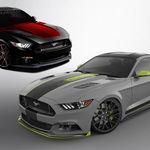 Los seis Mustangs escapados del establo de Ford para el SEMA Show