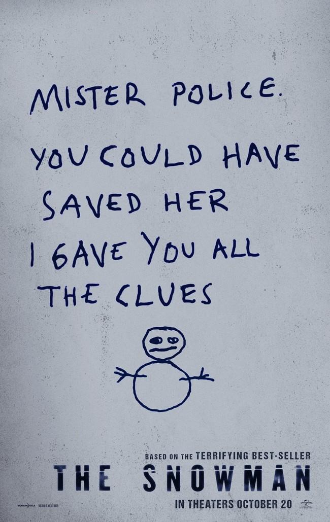 The Snowman teaser poster 1