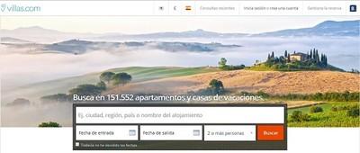 Booking presenta Villas.com, su nuevo buscador de alojamientos