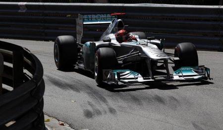GP de Mónaco F1 2011: Michael Schumacher se marca como objetivo el podio